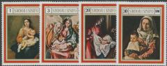 Samoa SG332-5 Christmas 1969 set of 4
